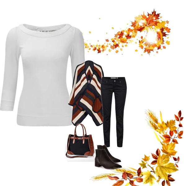 Dámský podzimní outfit