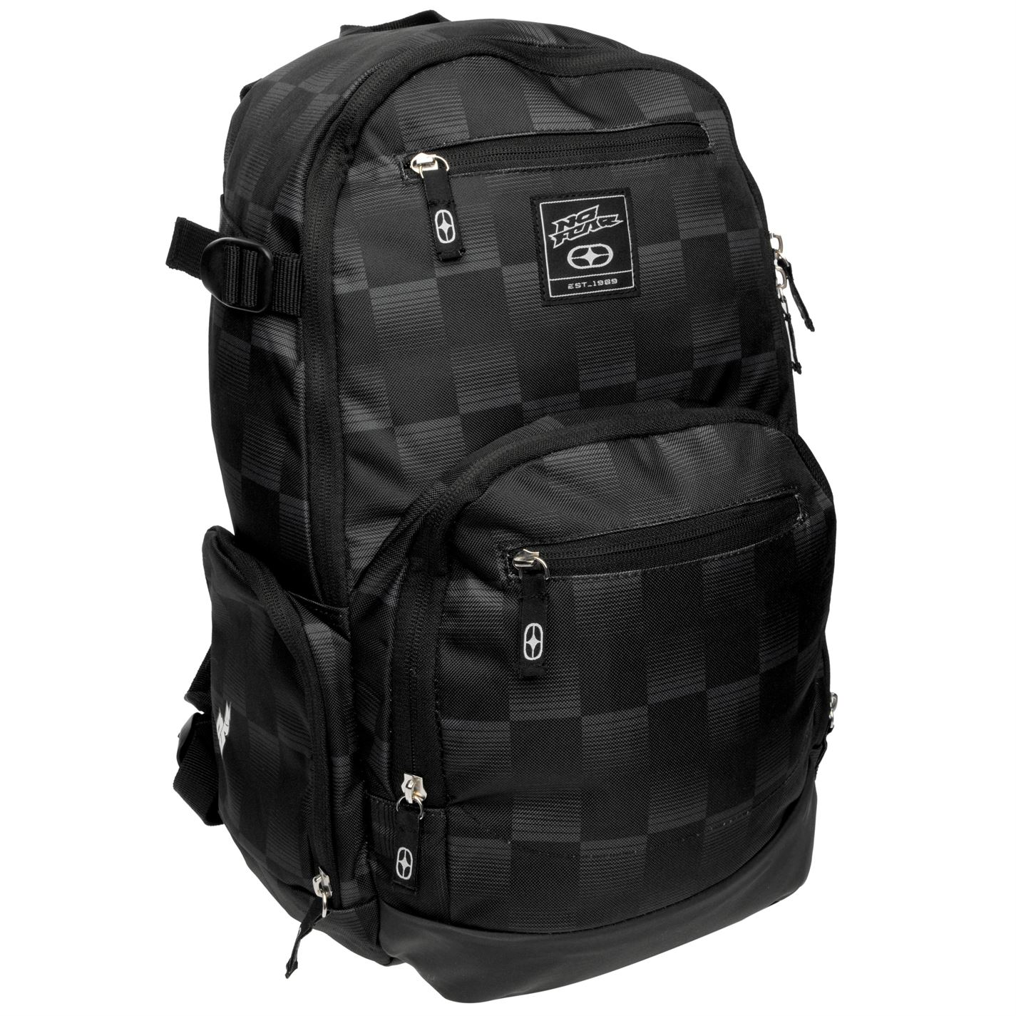 812672f3b4d No Fear Check B Pack 00 Black Charcoal - Glami.cz
