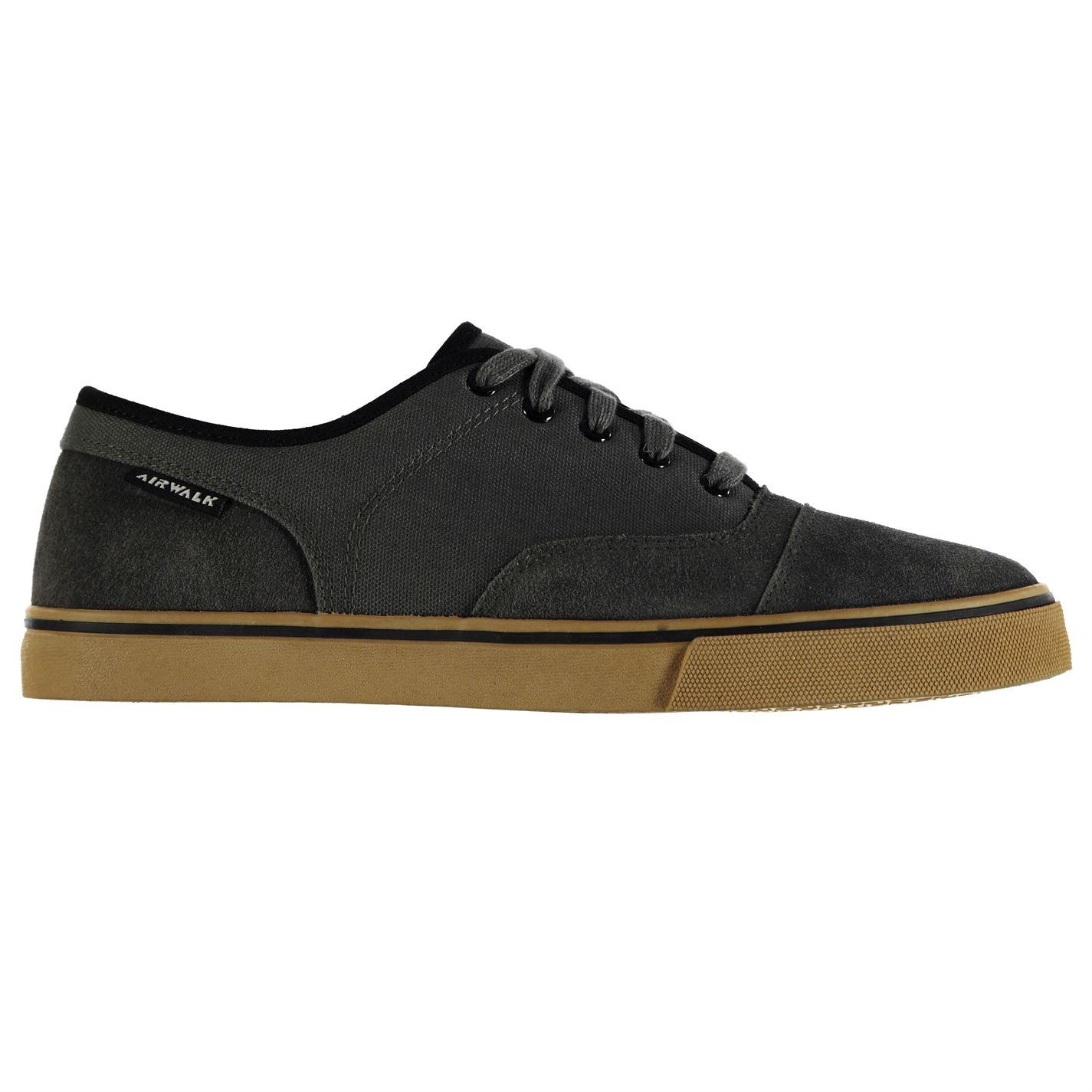 Airwalk Tempo Canvas Shoes pánské Dark Grey - Glami.cz 0dee655c80