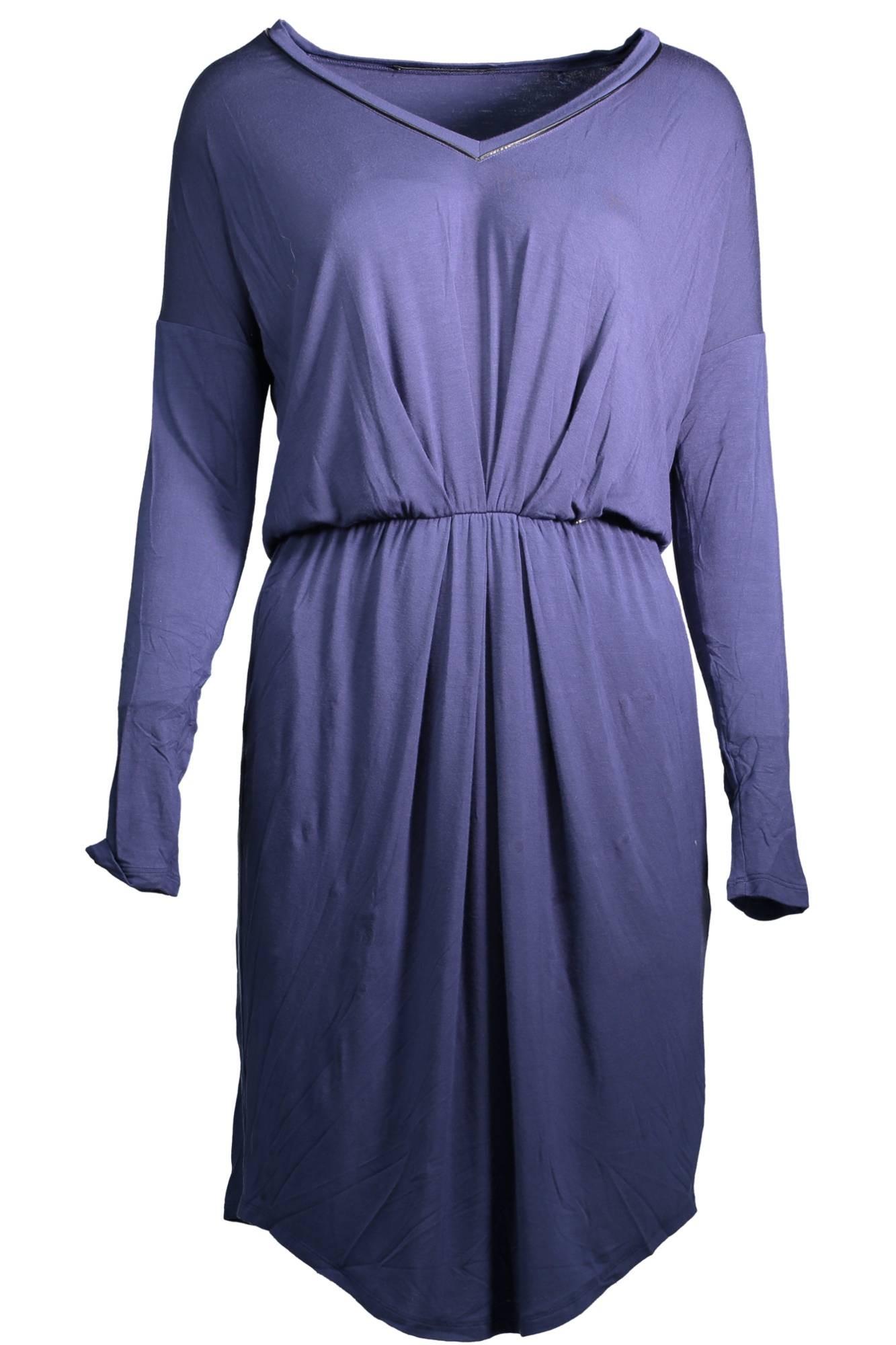 Guess jeans Dámské šaty Woman Dress Modrá - Glami.cz bd7ff332672