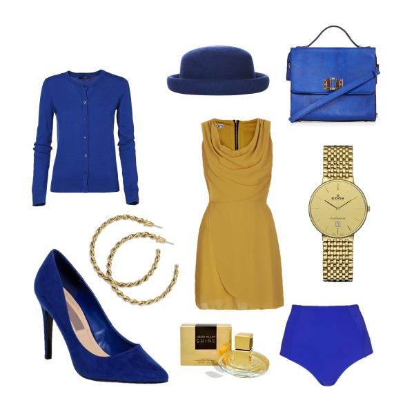 luxusní modrá