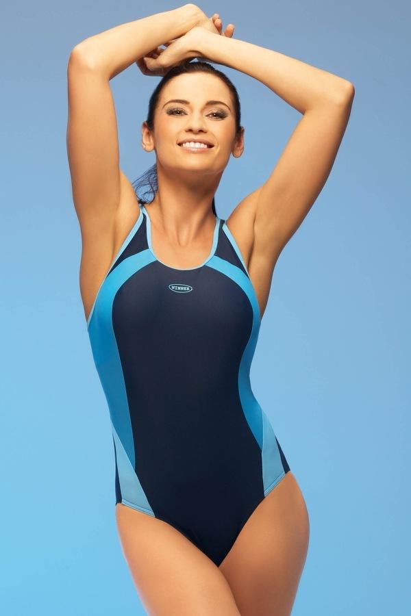 Winner Dámské plavky Alinka1 jednodílné modrá - Glami.cz bb524e02e2