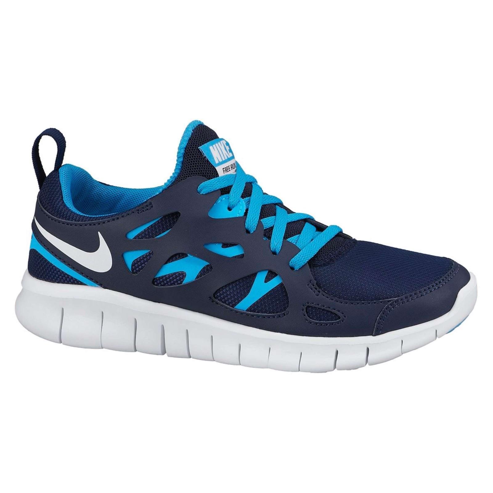 Dětské běžecké boty Nike FREE RUN 2 (GS) MIDNIGHT NAVY WHITE-BL ... 6fc13a0ca2