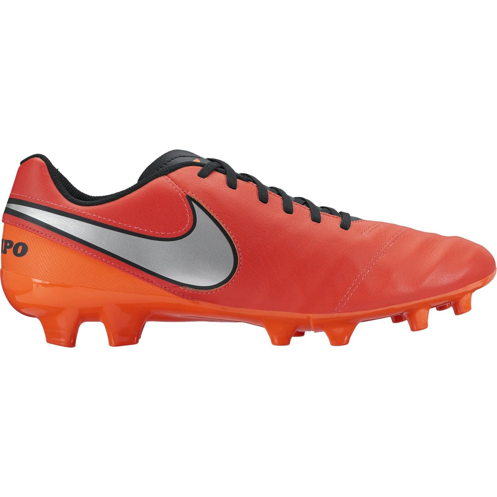 7d0c42361 Pánské kopačky Nike TIEMPO GENIO II LEATHER FG LT CRMSN/MTLLC SLVR-TTL  CRMSN. 1
