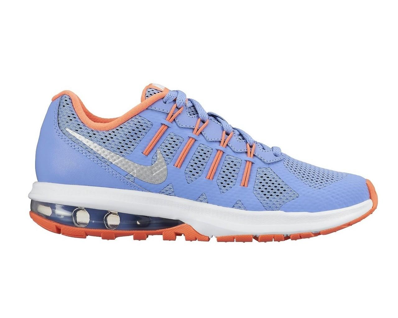 Dětské boty Nike AIR MAX DYNASTY (GS) CHLK BLUE MTLLC SLVR-BRGHT MNG ... 89cdd29cd62