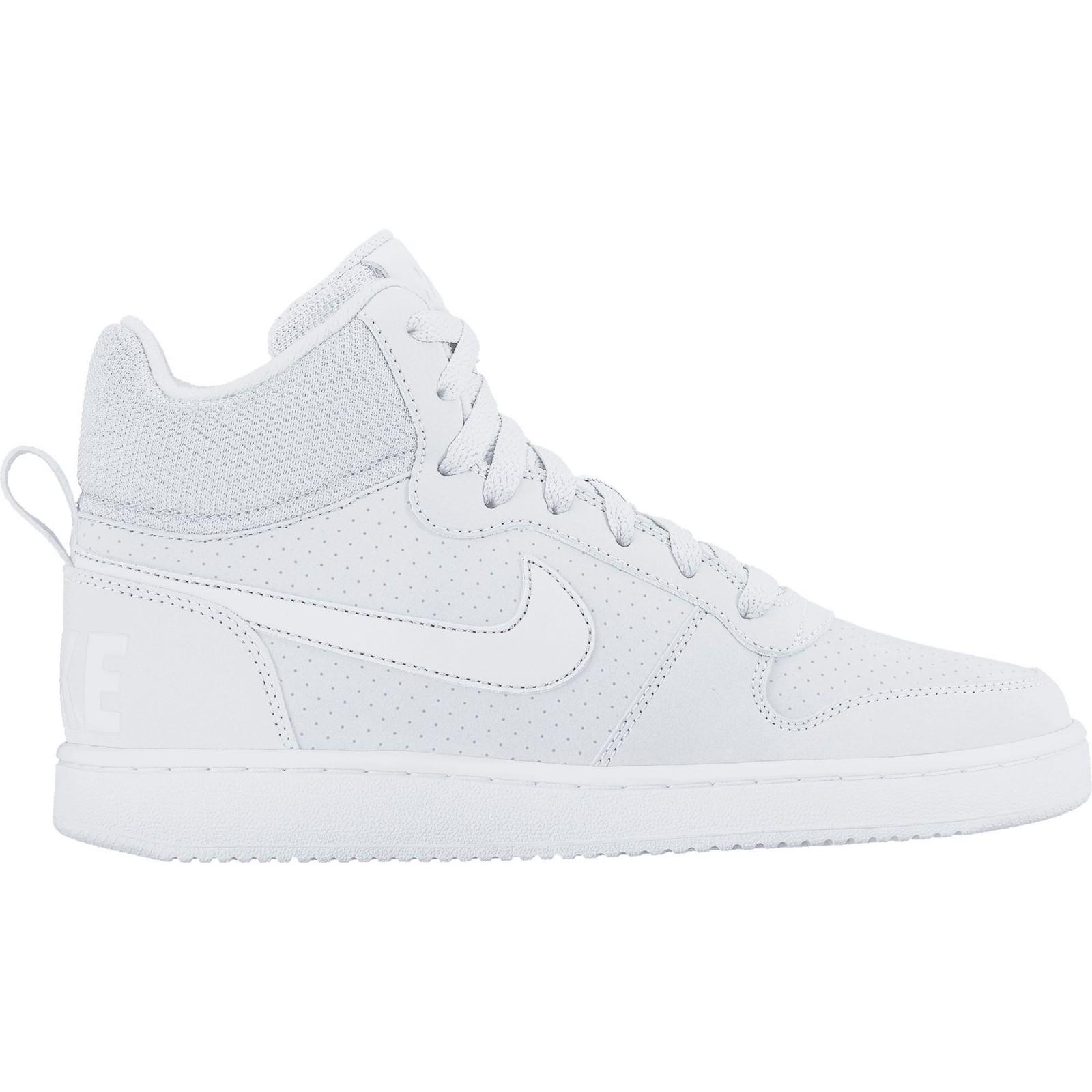 57b07fa93a9 Dámské boty Nike WMNS COURT BOROUGH MID WHITE WHITE-WHITE - Glami.cz