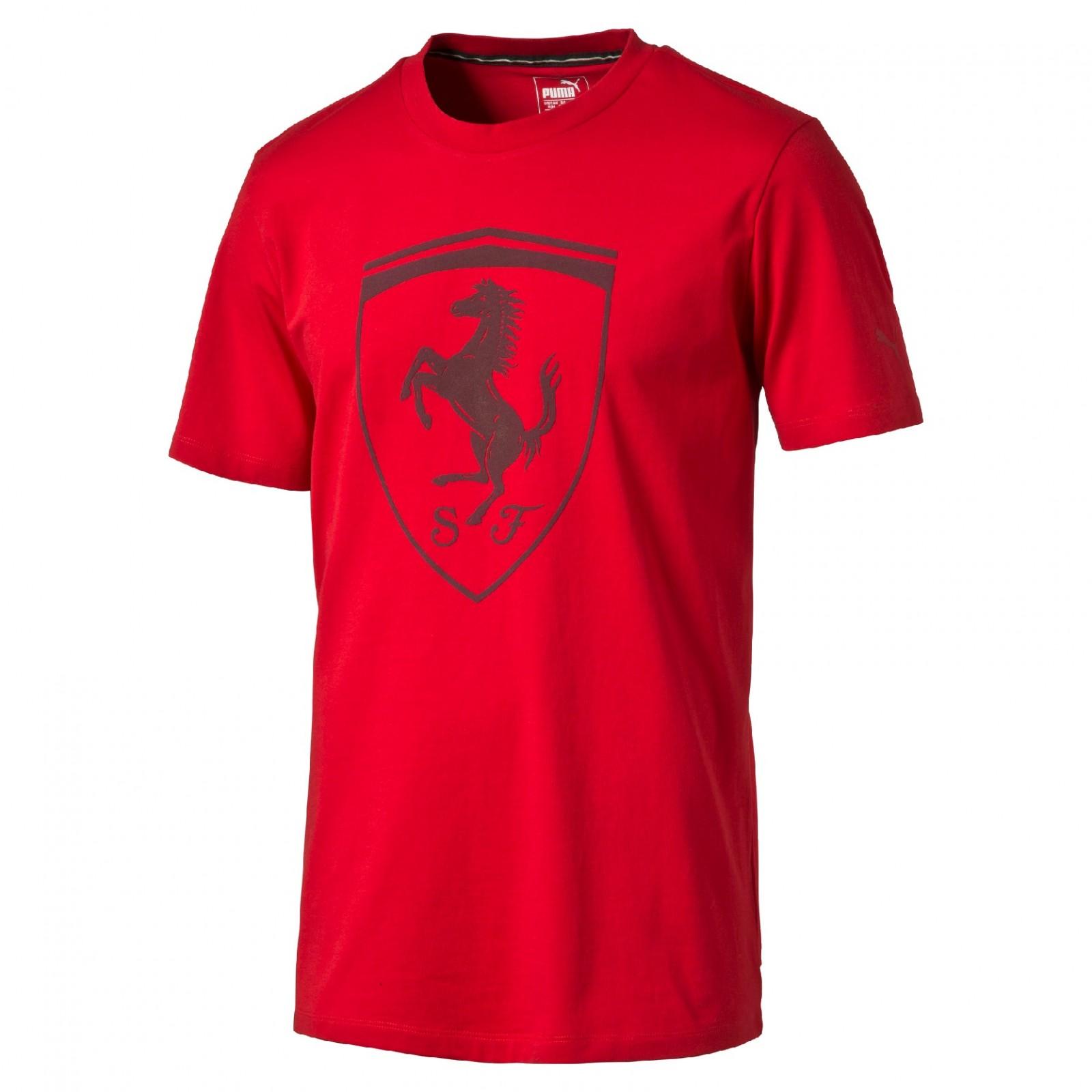 Pánské tričko Puma Ferrari Ferrari Big Shield Tee Rosso C - Glami.sk 2f37ec6733e