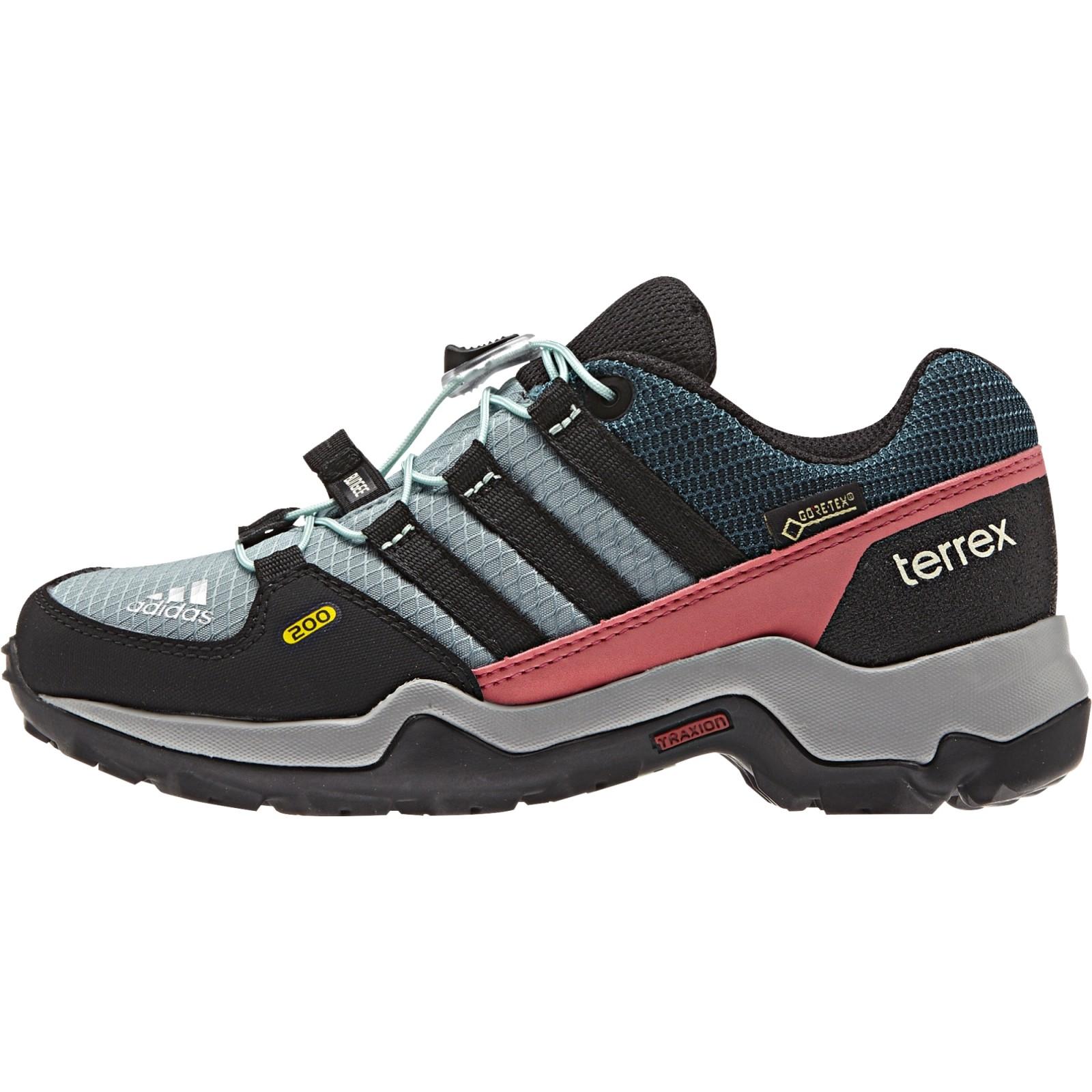 Dětská treková obuv adidas Performance TERREX GTX K VAPSTE CBLACK TECGRN. 1 65374b5e3f3