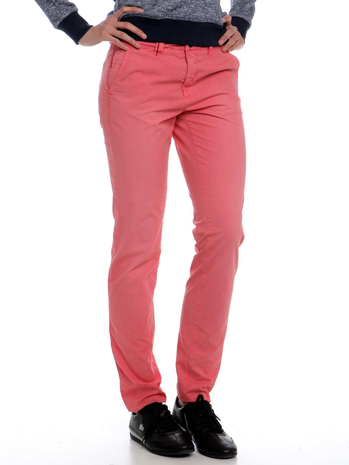 9a9d133c2101 Pepe Jeans Dámské kalhoty Colfax ss15 červená - Glami.cz