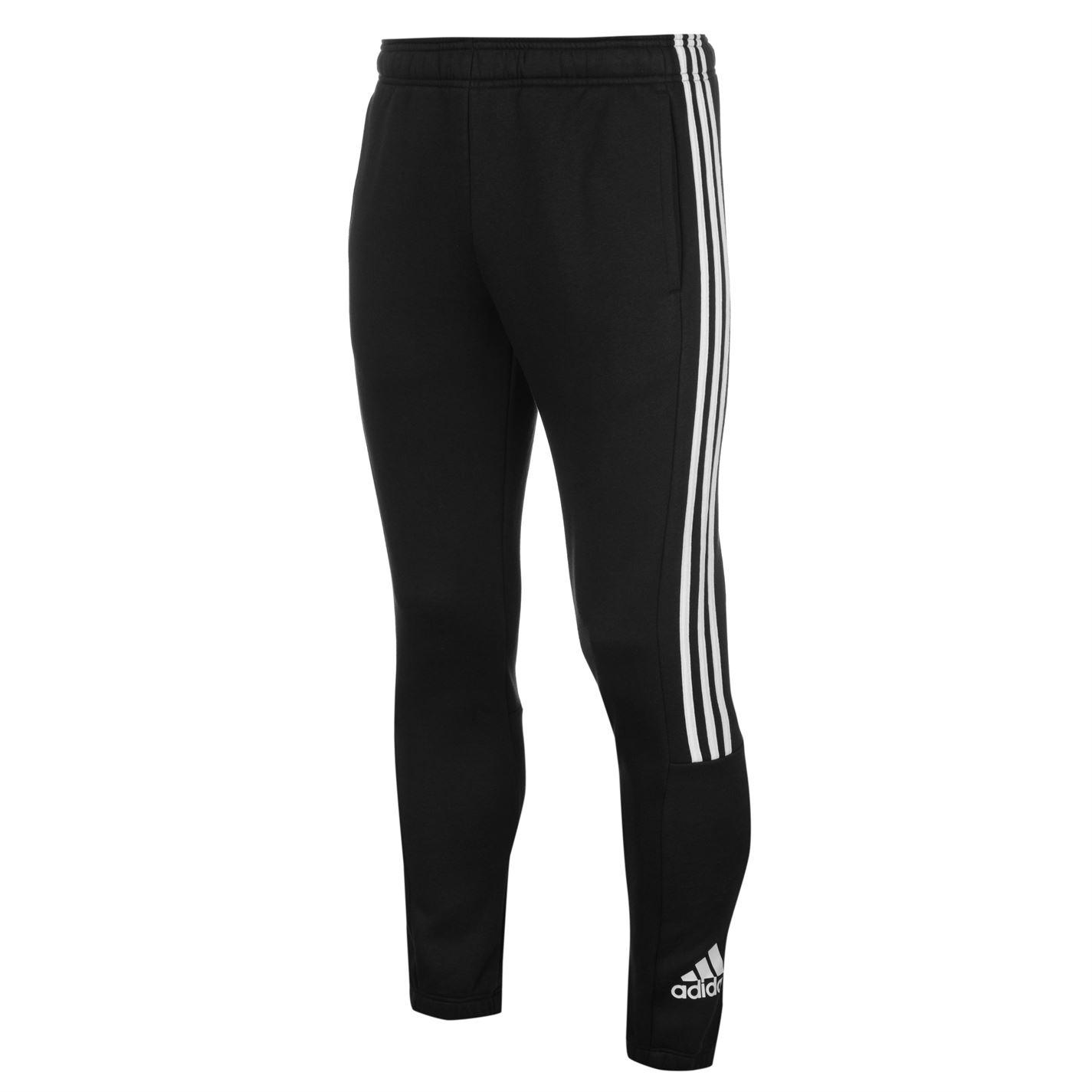 Tepláky pánské Adidas 3 Stripe Sweat Black White - Glami.cz 0c743c472dc