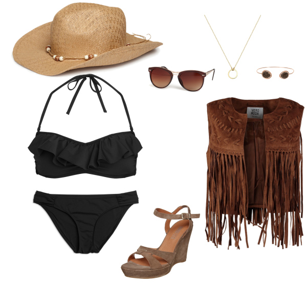Wildes Strand Outfit