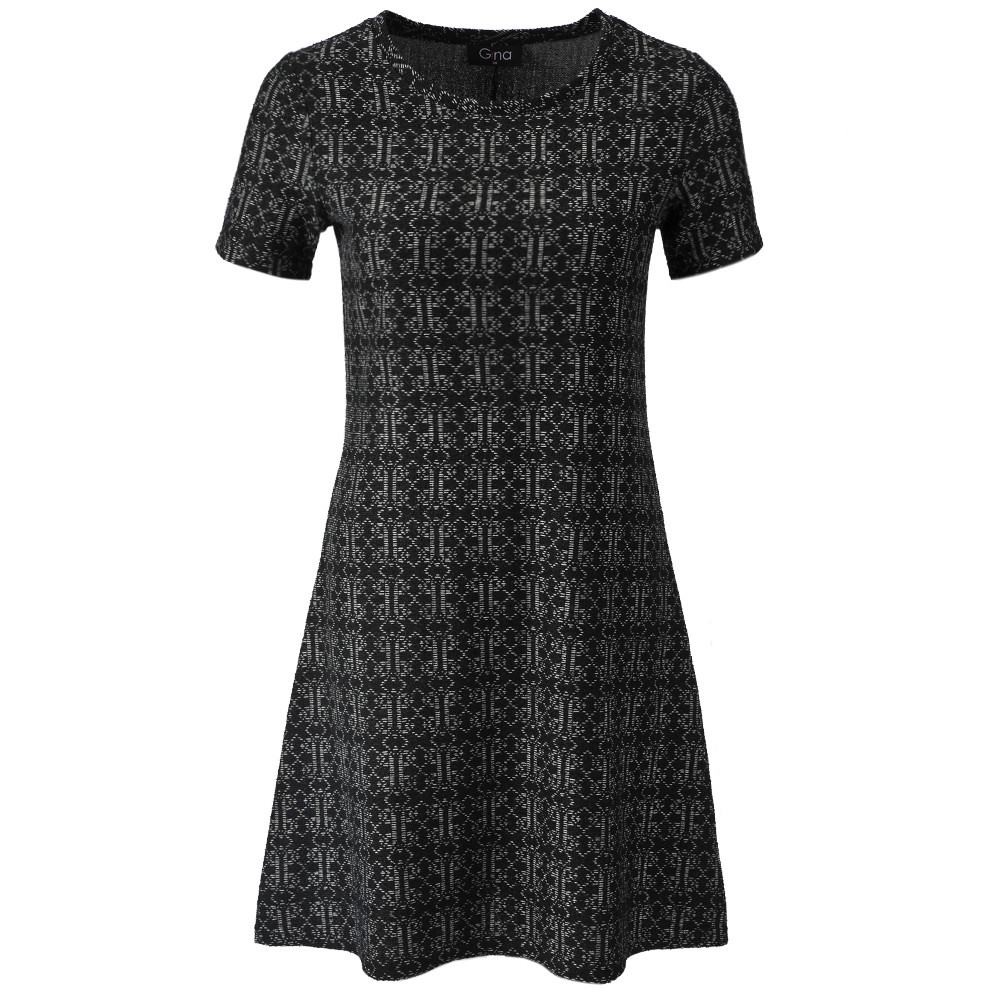 65275c367d94 Gina Dámské teplákové šaty s krátkým rukávem - Glami.cz