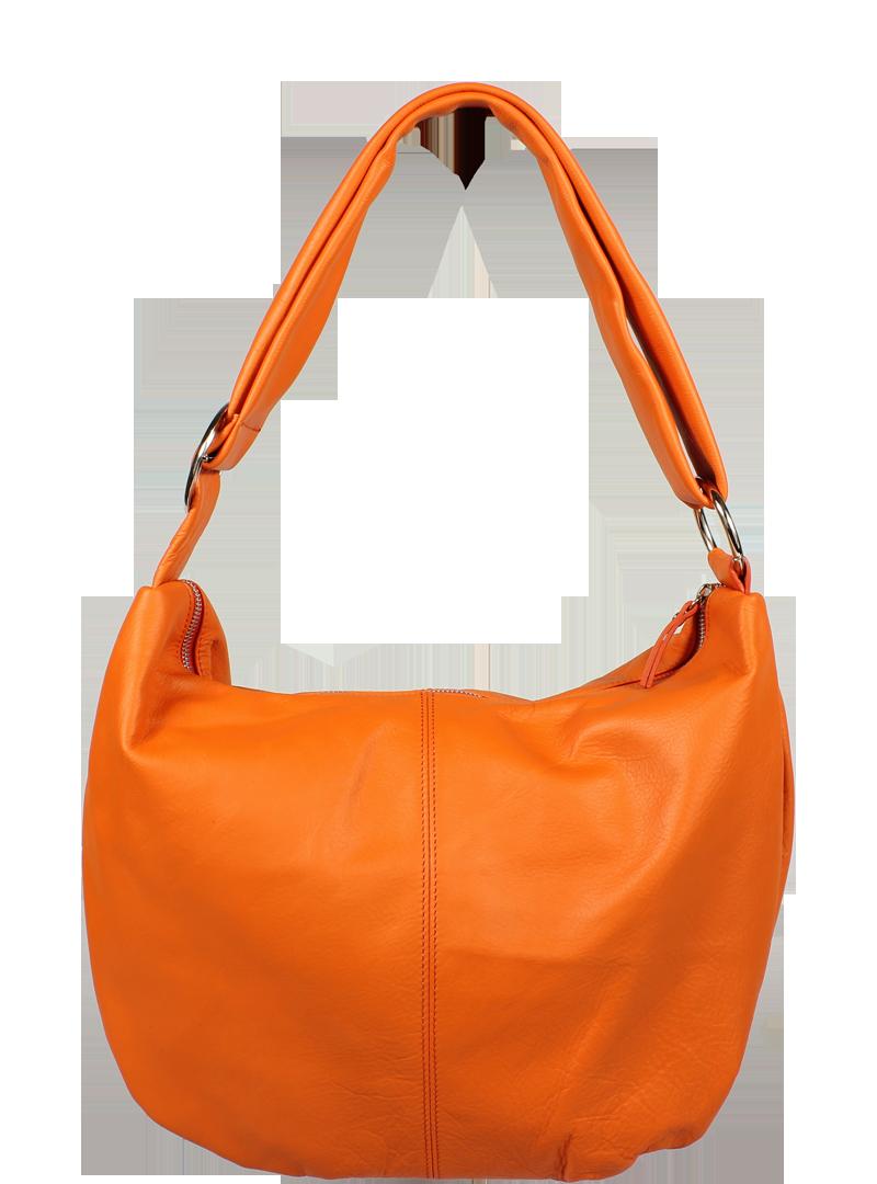 NovaKabelka.cz Oranžová kožená kabelka Gondola Arancione - Glami.cz 05abe27335c