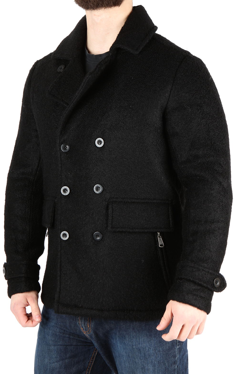 2a90c9f931 Urban Surface Férfi elegáns gyapjú kabát Városi felszíni - Glami.hu